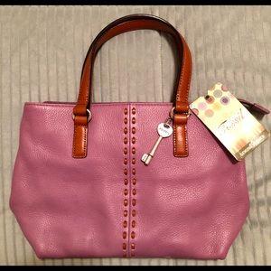 Vintage Fossil Light Purple Bag